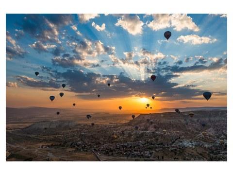 photos de montgolfières
