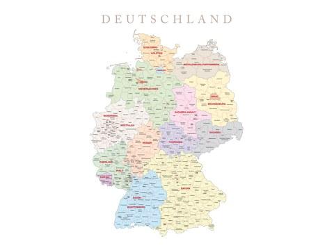 Germania mappa