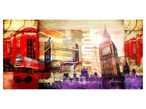 Londra collage