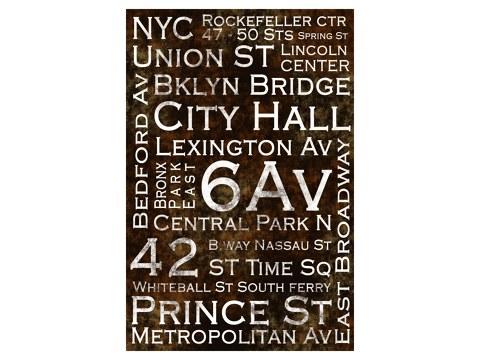 Photos de New York en noir et blanc